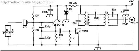 Radio Circuits Blog Ceramic Resonator Vfo