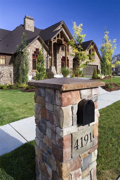 brick l post designs mailboxes hearth and home distributors of utah llc