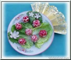 la sculpture des l 233 gumes et des fruits pour d 233 corer les plats