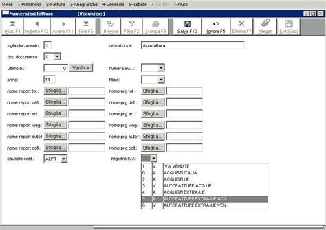 registri iva sezionali aco informatica guida ai software aco