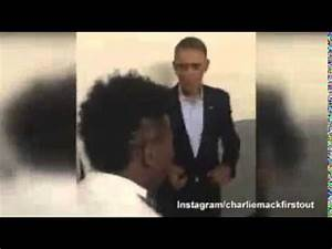 Obama jams as he's serenaded with impromptu performance ...
