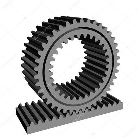 pignone cremagliera 3d cremagliera pignone della ruota dentata della rotella
