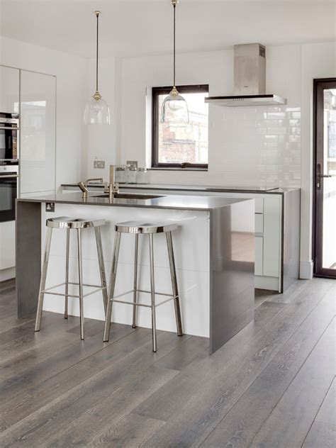 White Kitchen Flooring Ideas by 15 Stunning Grey Kitchen Floor Design Ideas Style Motivation