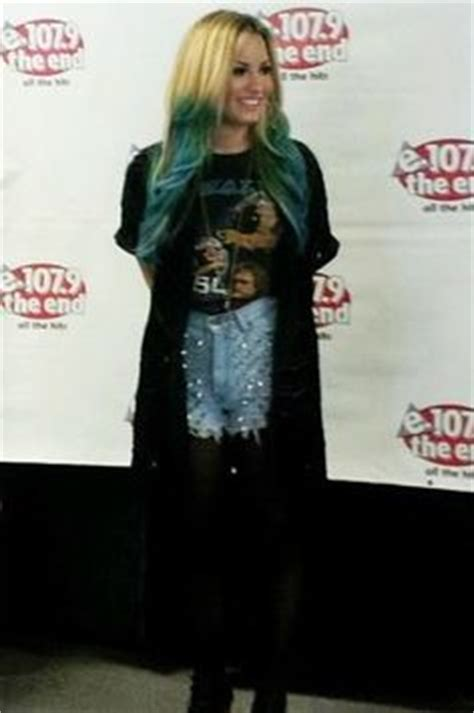 demi lovato is grunge chic in plaid rocker t shirt at my 1000 images about demi lovato on demi