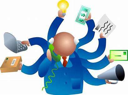 Clipart Manager Management Cliparts Marketing Clip Data