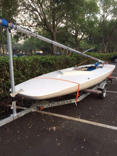 melges mc scow  greenville south carolina sailboat