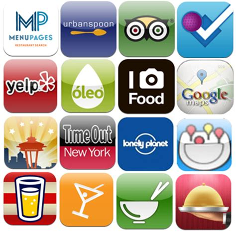 free food apps for iphone 20 free iphone food apps for the traveler foodsherpas