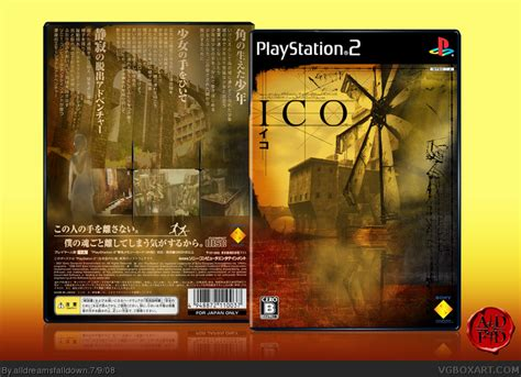 Ico Playstation 2 Box Art Cover By Alldreamsfalldown