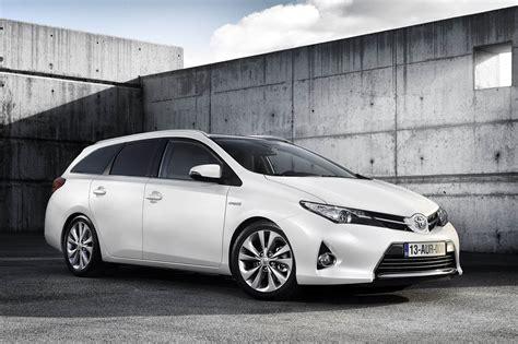 fiche technique toyota auris touring sports hybride 2014 - Toyota Auris Hybride Fiche Technique