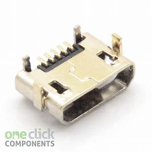 New Micro Usb Dc Charging Socket Port Connector For Lenovo