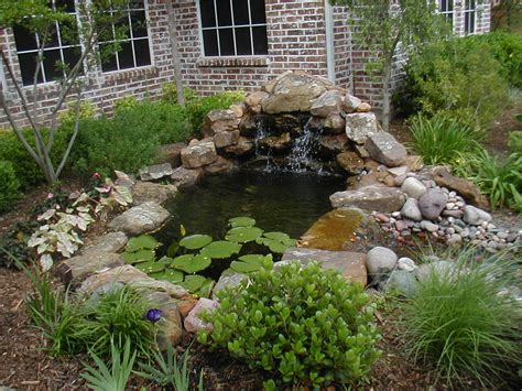 fish pond waterfall ideas wonderful garden pond ideas with koi fish amaza design