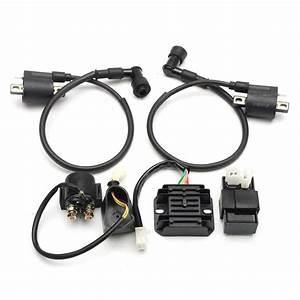 150cc 200cc 250cc Ignition Coil Cdi Regulator Rectifier