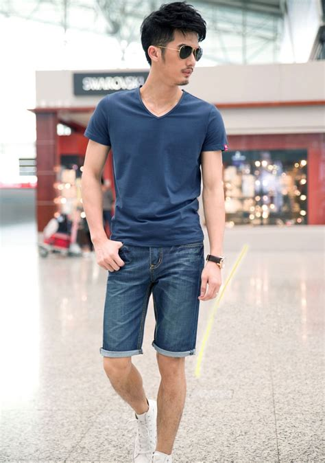 great style fashion pria pendek  bagi ide style unik