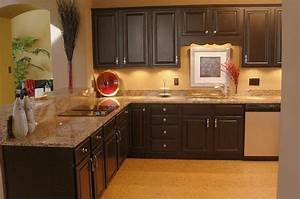kitchen paint colors with dark cabinets 2267