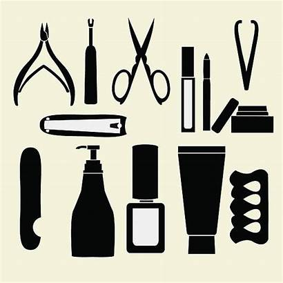 Manicure Pedicure Nail Vector Illustration Personal Clip