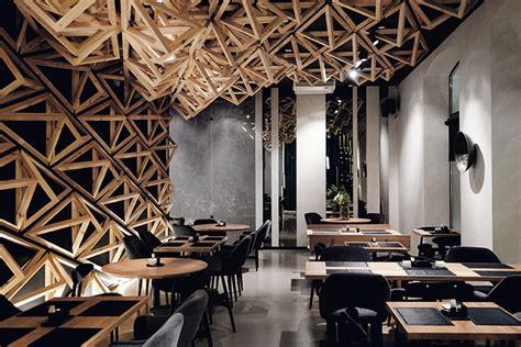 japanese paper lanterns sushi bar retail design