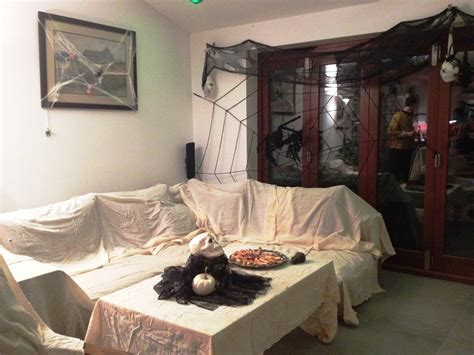 21 Stylish Living Room Halloween Decorations Ideas