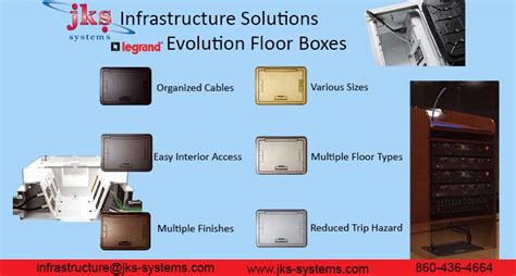 fsr high load capacity floor boxes legrand evolution series floor boxes jks infrastructure