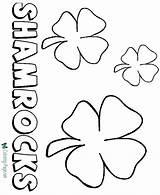 Coloring St Shamrock Pages Shamrocks Printable Sheets Patrick Patricks Sheet Saint March Leprechauns Colouring Leprechaun Rainbow Printing Stpatricks Help Patty sketch template