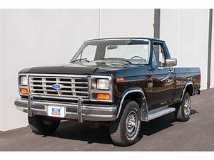 1985 Ford F150 4x4 Pickup For Sale
