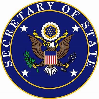 Secretary State Seal States United Svg