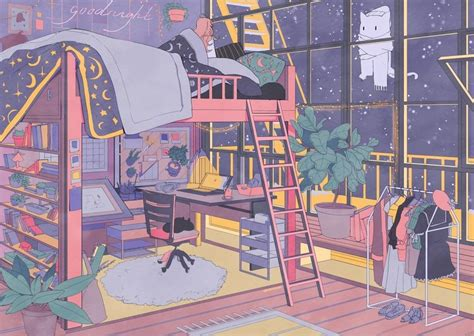view anime aesthetic study images