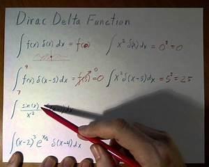 Delta Funktion Integral Berechnen : dirac delta function youtube ~ Themetempest.com Abrechnung