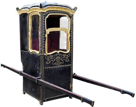 chaise à porteur xixe siècle