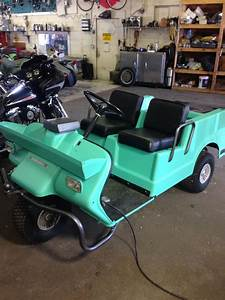 Redoing My 1970 Harley Davidson Golf Cart