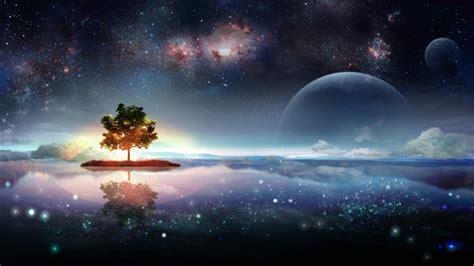 scifi fantasy landscape wallpaper  desktop
