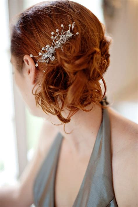 diy hair accessories for wedding rhinestone wedding hair comb afloral wedding