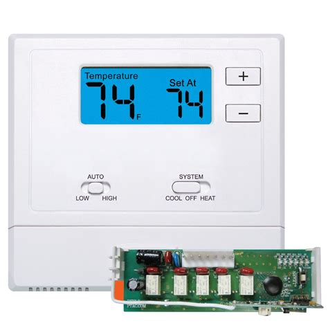 vive tradepro 174 wireless ptac thermostat non programmable 1h 1c conventional or 2h 1c heat