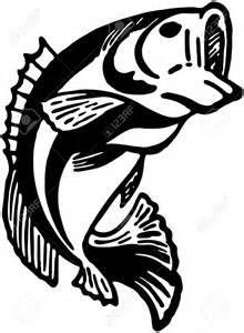 Bass Fish Vector Clip Art