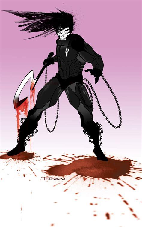 Shadow Man Oni Armor By Tomkellyart On Deviantart