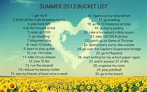 Bucket List Tumblr