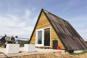 Tiny A Frame Homes Ideas by Live Tiny In A Frame Cabin In Belgium