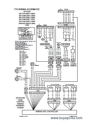 Bobcat Wiring Schematic by 753 Bobcat Wiring Schematic Wiring Diagram Cable