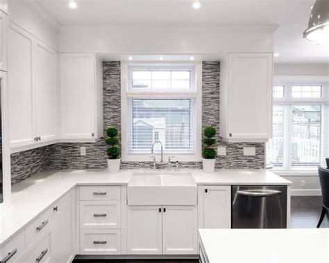 kitchen backsplashes images backsplash around window houzz 2270