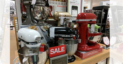 Kitchenaid Attachments At Kohl S by Kohl S Kitchenaid Mixer Wow