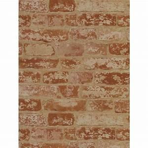 York Wallcoverings Stuccoed Brick Wallpaper