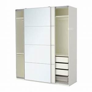 Ikea Armoire Porte Coulissante : ikea pax armoire penderie taille 200 x 66 x 236 cm portes coulissantes au 89 ~ Nature-et-papiers.com Idées de Décoration