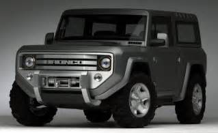 New Ford Bronco Concept