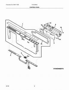 Frigidaire Fgid2466qf7a Parts List