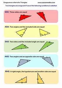 Congruence & Similarity Worksheet PDF   Similar Shapes ...