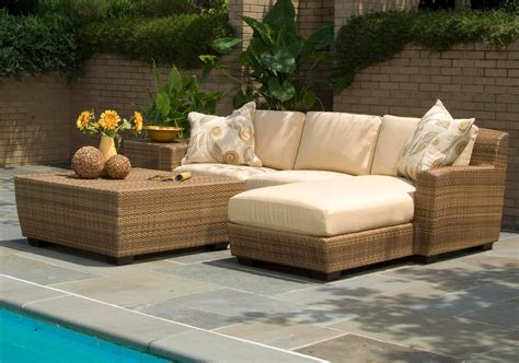 Outdoor Wicker Patio Furniture by Outdoor Wicker Furniture Resin Wicker Patio Sets