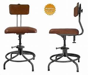 Chaise Style Industriel : design industriel mobilier industriel meuble industriel brocante indus mobilier deco loft ~ Teatrodelosmanantiales.com Idées de Décoration