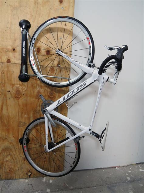steadyrack vertical bike storage rack swiveling  bike steadyrack bike storage gu