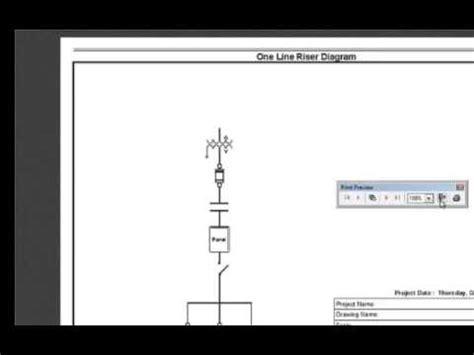Single Line Diagram Autocad Lt by Autocad Electrical Producing Single Line Diagrams