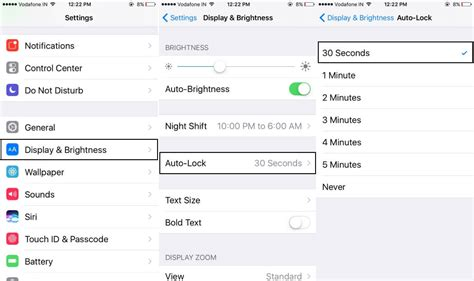 how to turn auto lock on iphone turn on or change auto lock screen time on iphone 8