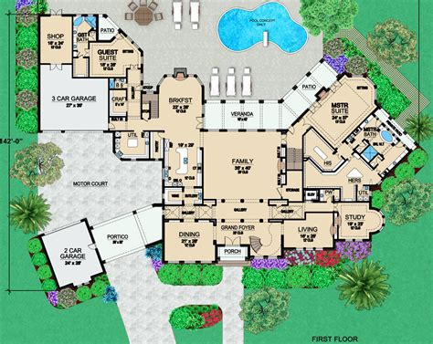 Mansion Plans by Two Mansion Plans From Dallas Design Homes Of The Rich